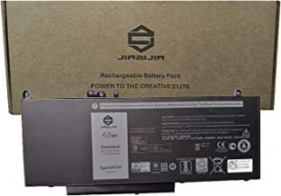 JIAZIJIA 6MT4T Laptop Battery Replacement for Dell Latitude 5470 5570 E5470 E5570 Precision 3510 M3510 Series Notebook 7V69Y HK6DV 0HK6DV 79VRK 079VRK TXF9M 0TXF9M 7.6V 62Wh 8180mAh 4-Cell