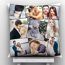 9 Photos Personalized Cushion
