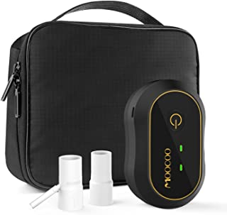 Moocoo CPAP Cleaner and Sanitizer Bundle Includes T Adapter, Sealed Bag and Heated Hose adapters