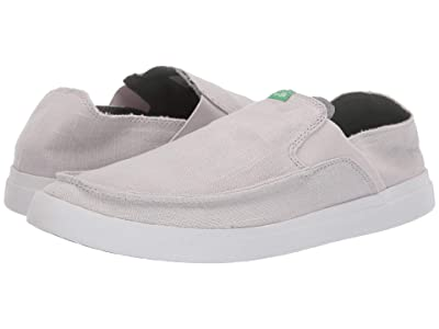 Sanuk Pick Pocket Slip-On Linen (Grey) Men