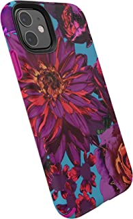 Speck Products Presidio Inked iPhone 11 Case, HyperBloom Matte/Lipstick Pink