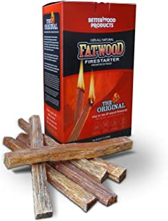 Better Wood Products Fatwood Firestarter Box, 2-Pounds