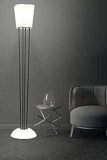 Lampe de sol fabriquée à la main en Corian® Solid Surface modèle Emera 4