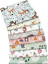 5 Fat Quarters Nursery Basics Blues Baby Quilting Craft Cotton Com