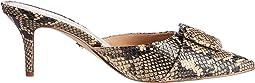 Desert Multi Exotic Snake Print Leather