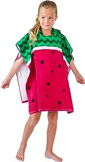watermelon hooded towel