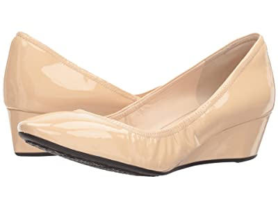 Cole Haan Sadie Wedge 40mm (Nude Patent) Women
