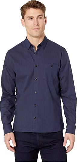 Oxfords Long Sleeve Twill Overshirt