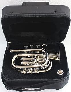 Nasir Ali PoTr-05, Pocket Trumpet, Bb, Nickel