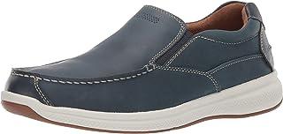 Florsheim Men's Ontario Moc Toe Slip On Loafer, Black, 12 Medium US