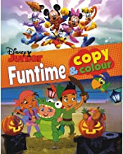 Disney Junior Funtime Copy & Colour