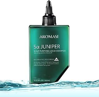 Aromase 5a Juniper Champú líquido purificante para cuero cabelludo sin sulfatos para psoriasis dermatitis ph 5.5 - 260 ml