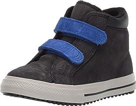 56284b0409189 Converse Kids Pro Blaze Strap Back Court Leather - Hi (Little Kid ...