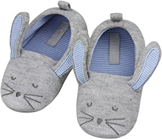 Fakeface Kids Bunny Plush Bootie Slippers Warm Winter Non-Slip Shoes Boots for Girls Boys