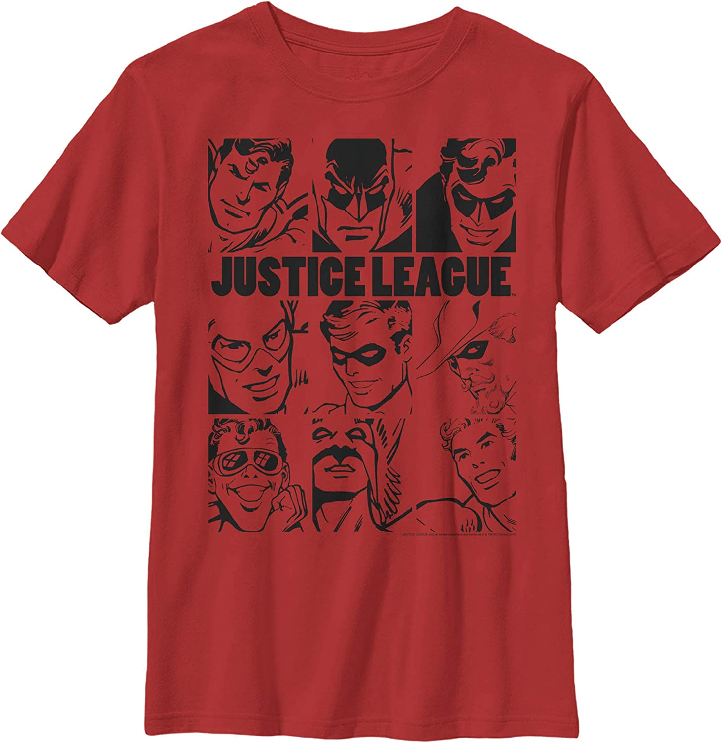 Fifth Sun League One Justice Boy's Premium Solid Crew Tee