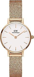Daniel Wellington Petite Melrose Watch, Rose Gold Mesh Bracelet, 24mm