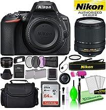 $1096 » Nikon D5600 24.2MP DSLR Digital Camera with AF-S DX 18-140mm Lens (1577) USA Model Deluxe Bundle -Includes- Sandisk 64GB S...