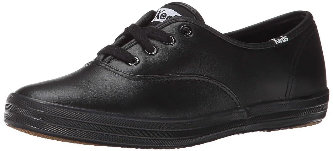 に渡って胚スティーブンソンKeds(ケッズ) レディース 女性用 シューズ 靴 スニーカー 運動靴 Champion-Leather CVO - Black Leather [並行輸入品]