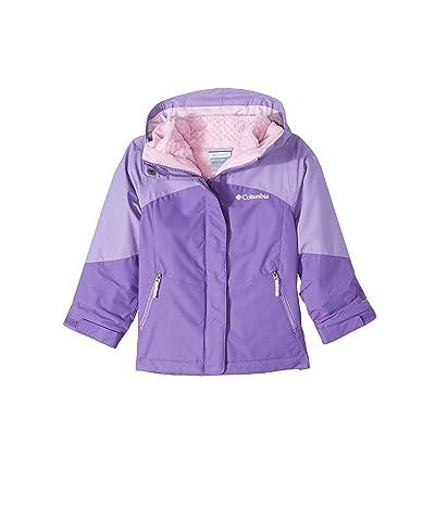 Columbia Kids Bugabootm II Fleece Interchange Jacket (Little Kids/Big Kids) (Grape Gum/Paisley Purple/Pink Ice) Girl
