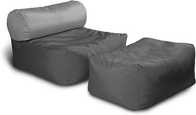 Amazon.com: LIXIONG - Taburete de almacenamiento para sofá ...
