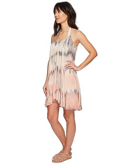 In UK Cheap Price Cheap Deals Green Dragon Watercolor Sateen Constance Swing Dress Multi Perfect Sale Online McpzaA