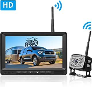 wireless camera system for horse trailers