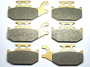 Volar Sintered HH Front /& Rear Brake Pads for 2007-2008 CAN AM Outlander 800 XT 4x4
