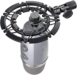 Blue Yeti Nano Shock Mount, Lightweight Alloy Shockmount Reduces Vibration Shock Noise Matching Mic Boom Arm, Designed for...