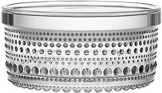 KASTEHELMI JAR (SET OF 2) 4.5 in x 2.25 in CLEAR