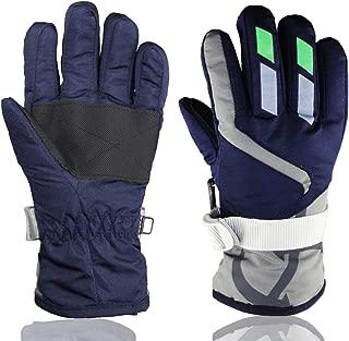 Children Ski Gloves Winter Warm Outdoor Riding Thickening...