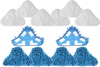 3/x Microfibre Cloths for Floor Mop H2O X5/Steam Mop Refills