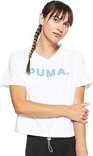 تي شيرت تشايس قبة V للنساء من بوما