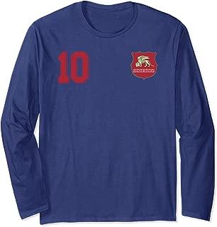 Venice or Venezia in Football or Soccer Style Long Sleeve T-Shirt