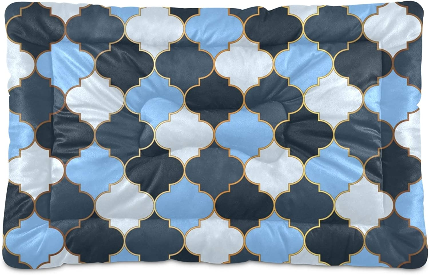 Ultra Soft Pet Bed Mat Moroccan 35% OFF Sale price Mosaic Fluff?Crate wit Short