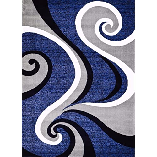 Royal Blue Area Rug Amazoncom