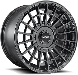 18x8.5 Rotiform R142 LAS-R Wheel 35mm 5x100 BD -Matte BLK BD -Matte BLK