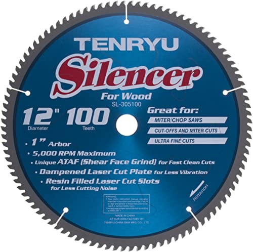 """popular Tenryu SL-305100 12"""" 100 wholesale Tooth Carbide high quality Blade outlet online sale"""