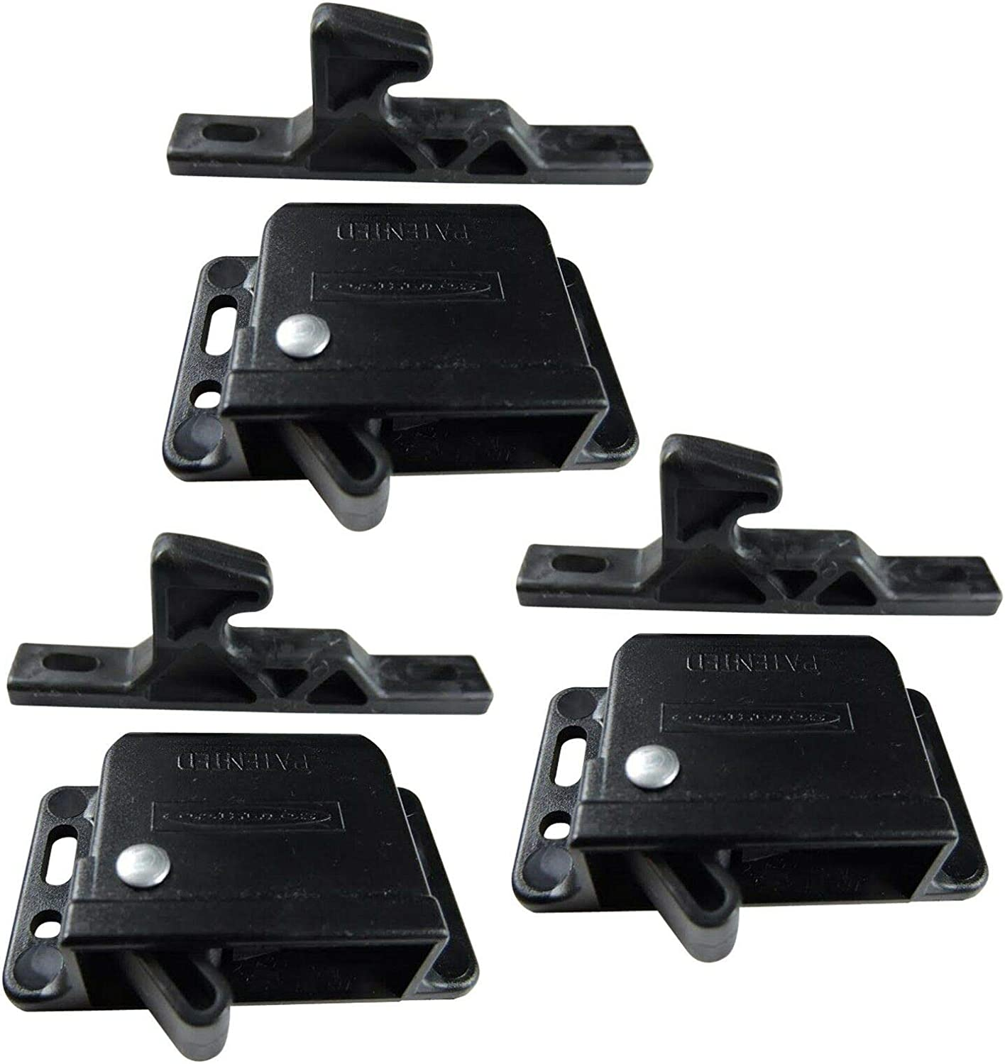 3-Pack of Factory outlet 10 Pound Black Grabber for Catch RV Latches Purchase Motorhome