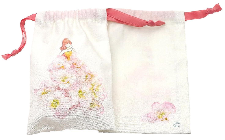 近代化牛はちみつセ?ルポゼ サシェ(香り袋) ドレス ピンク ブロッサム 消臭 除湿 バイオ抗菌 日本製 IJS31-01-2