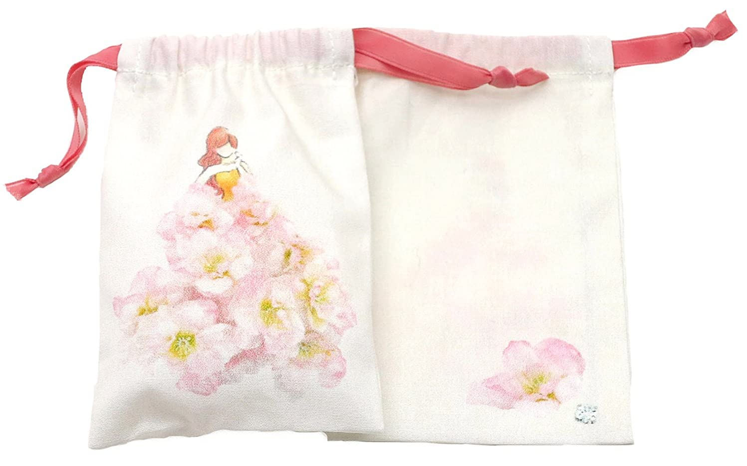 保守可能流体ファランクスセ?ルポゼ サシェ(香り袋) ドレス ピンク ブロッサム 消臭 除湿 バイオ抗菌 日本製 IJS31-01-2