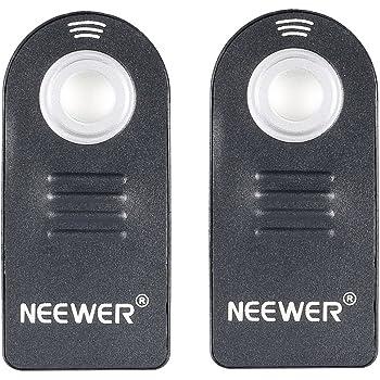 Neewer 2X IR Télécommande sans Fil Déclencheur à Distance ML-L3 pour Nikon D5300, D3200, D5100, D7000, D600, D610 Nikon J1, V1, Nikon 1 AW1 D40, D40X, D50, D60, D70, D70S, D80
