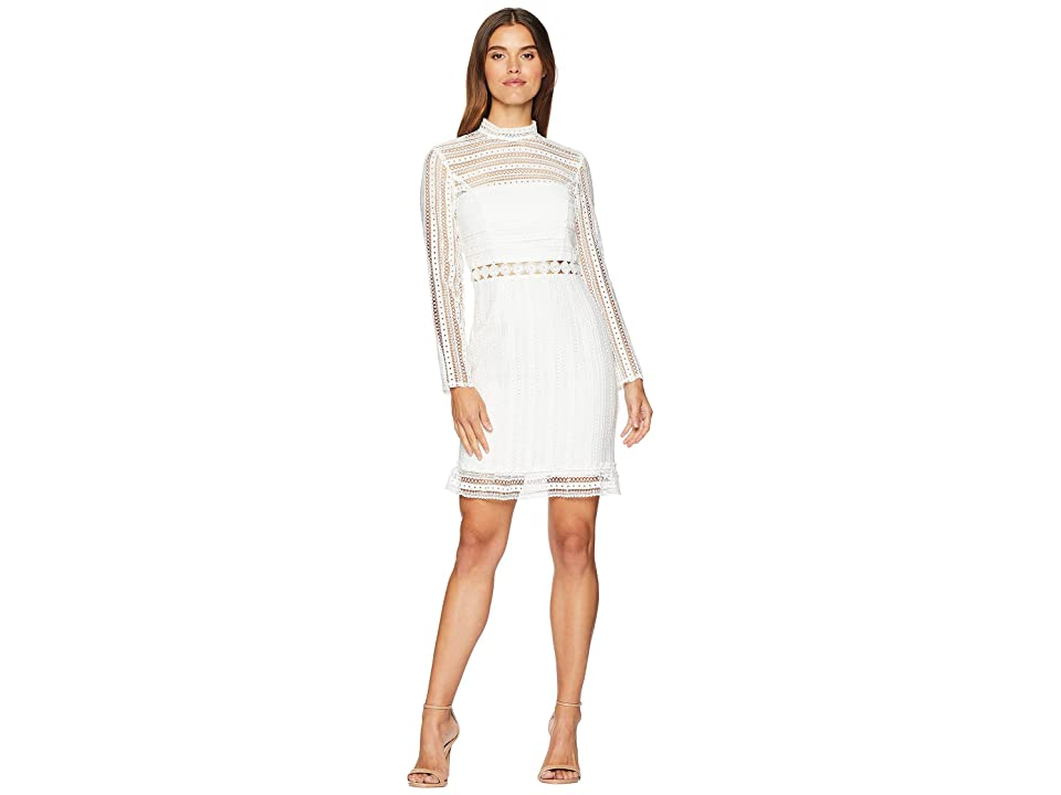 Bardot Vivian Splice Dress (Ivory) Women