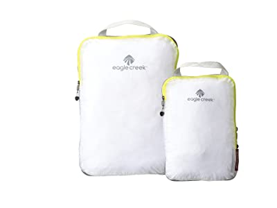 Eagle Creek Pack-Ittm Specter Compression Cube Set (White/Strobe) Wallet