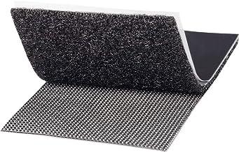 TOOLCRAFT KL50X100SC Klittenband Om vast te plakken Haak- en lusdeel, Extra sterk (l x b) 100 mm x 50 mm Zwart 1 paar
