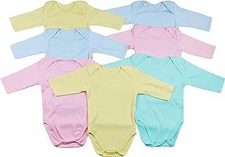 ToBeInStyle Babys' 4 Pack Long Sleeve Bodysuit Onesies
