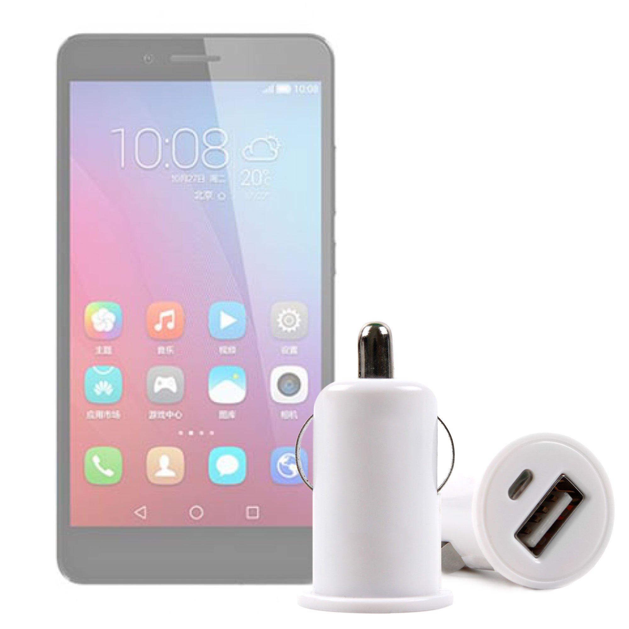 DURAGADGET Cargador Mechero del Coche con Puerto USB para Smartphone Huawei Honor 5C, Huawei Mate 9 Lite, Huawei Y6 II Compact: Amazon.es: Electrónica