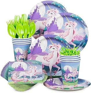 Unicorn Fantasy Birthday Party Standard Tableware