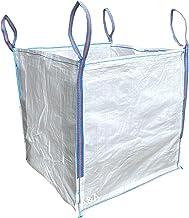 Sponsored Ad – A&A Supplies - 1 Tonne 90x90x90cm FIBC Bulk Builders Bag Garden Waste Heavy Duty Industrial Woven Material ...