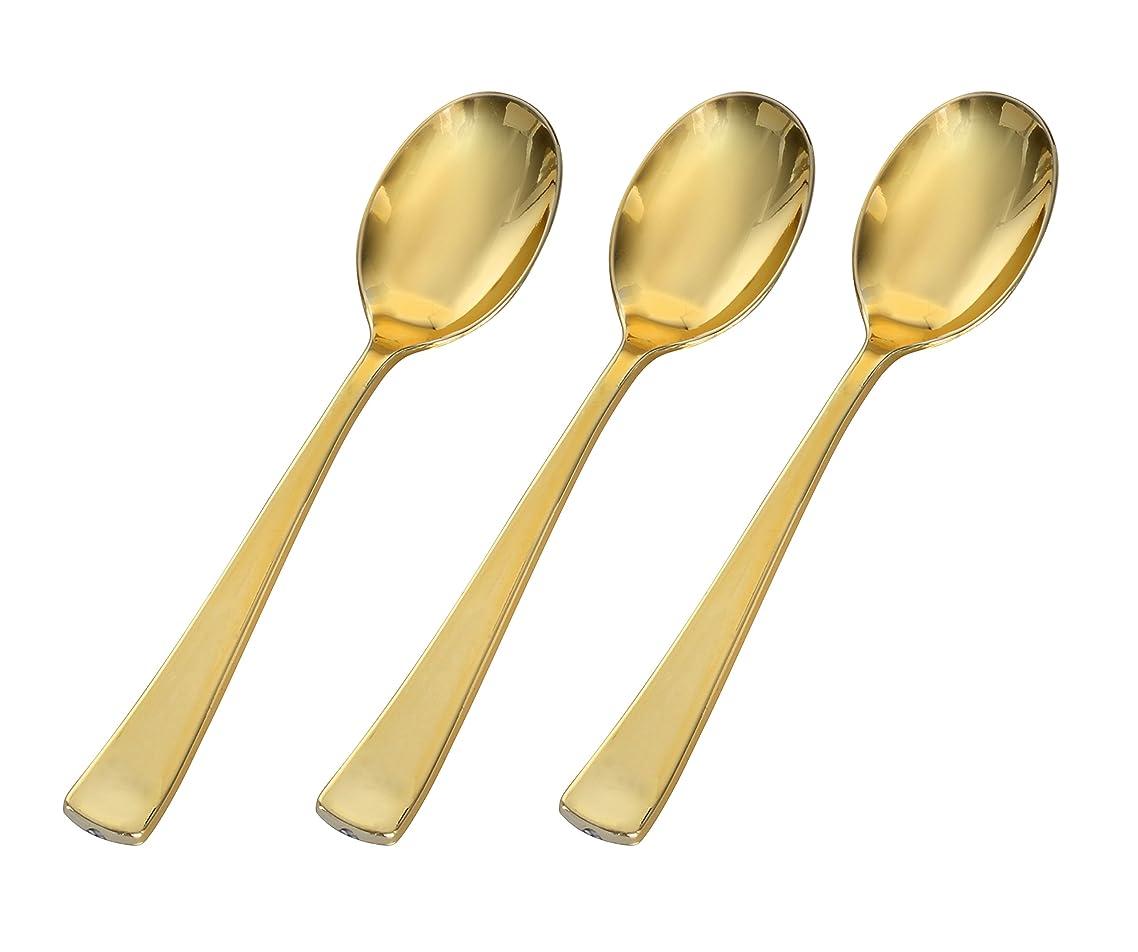 Golden Secrets Fineline Heavyweight Spoon, 6.25
