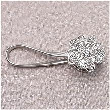Clip Rings Style Magnetic Gordijn Buckle Gordijn Ball Tie Strap Gordijn Clip Gordijn Sieraden Gebonden Flower Buckle Decor...